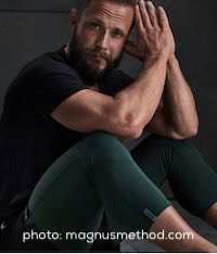Celebrity trainers Magnus Lygdback