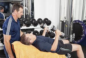Personal training session 3