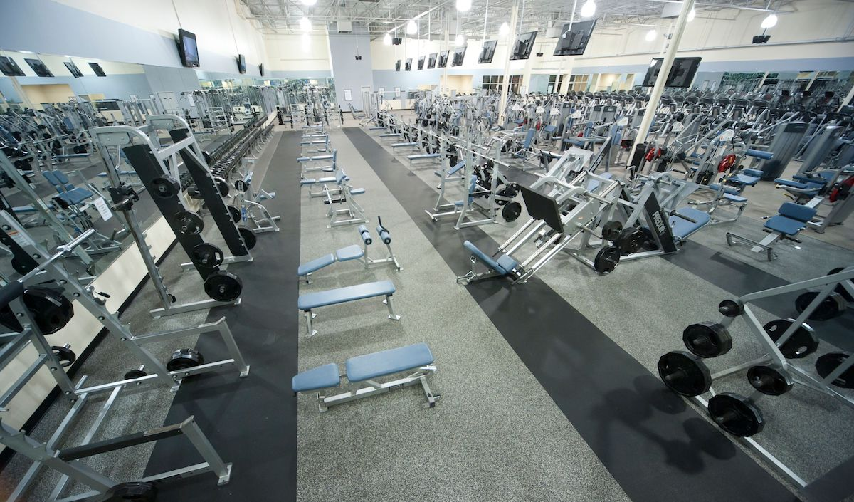Texas Family Fitness Allen Workout Room