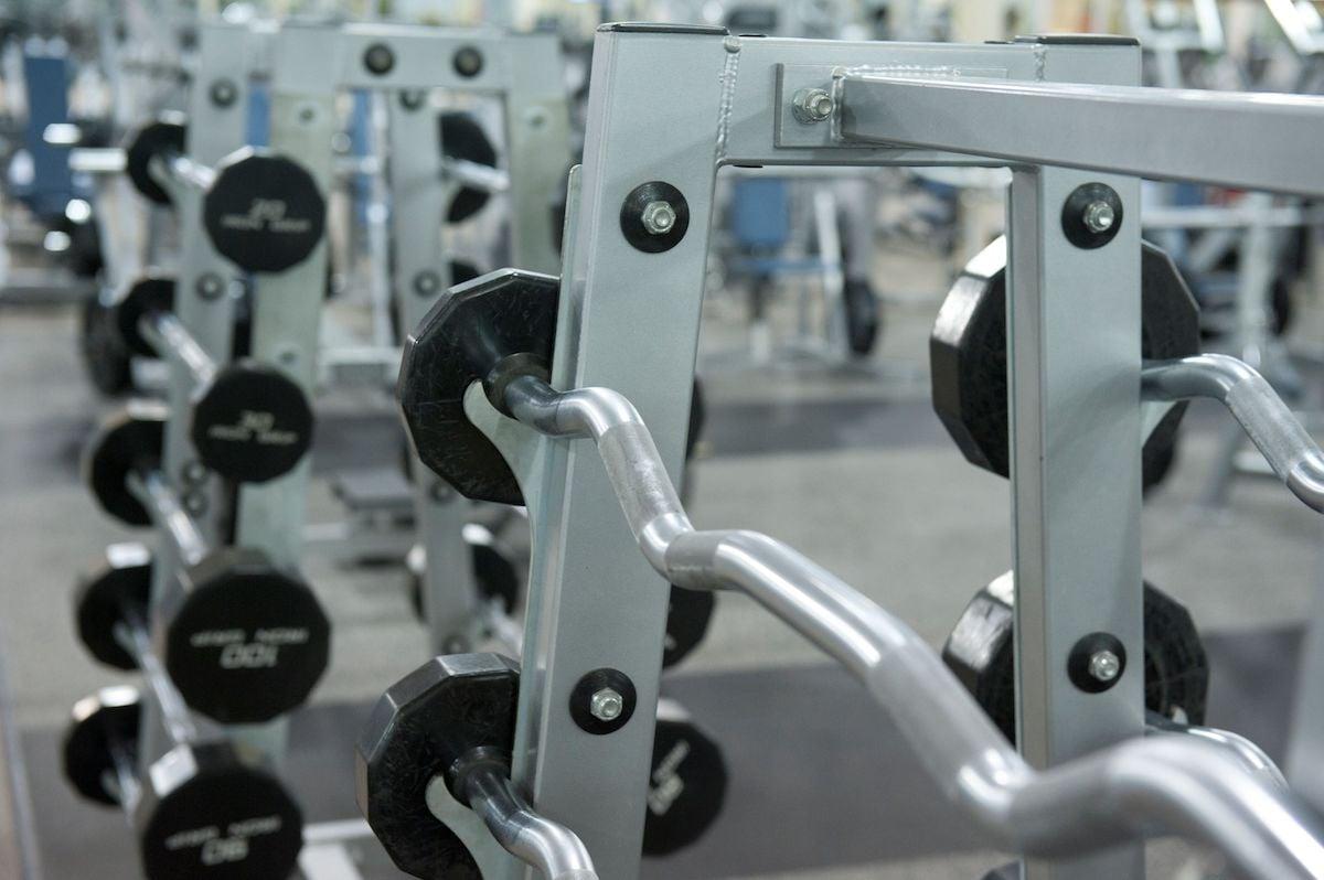 Texas Family Fitness Allen Weight Room
