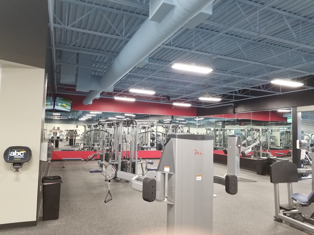 Texas Family Fitness Bedford Workout Room