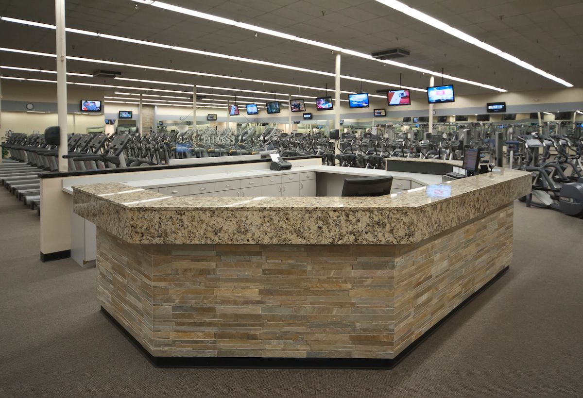 Texas Family Fitness Coppell Front Desk