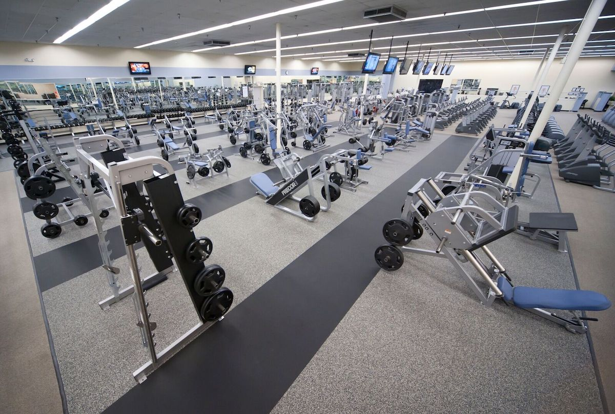 Texas Family Fitness Coppell Weight Room