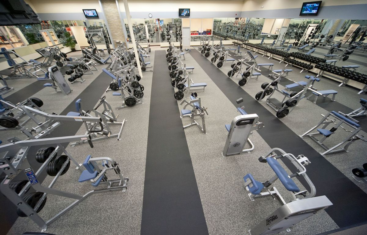Texas Family Fitness Frisco (Little Elm) Free Weights