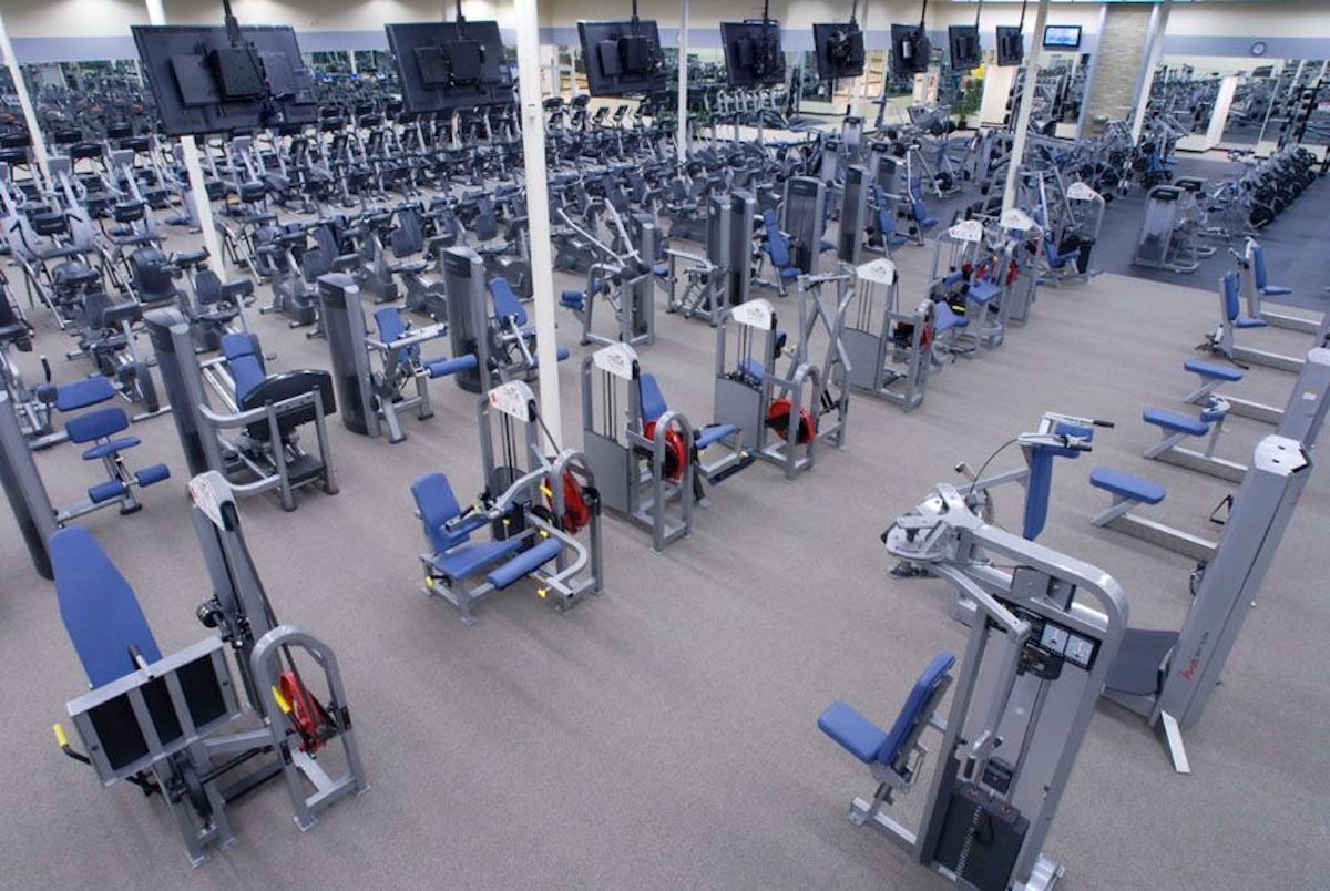 Texas Family Fitness Frisco (Little Elm) Weight Room