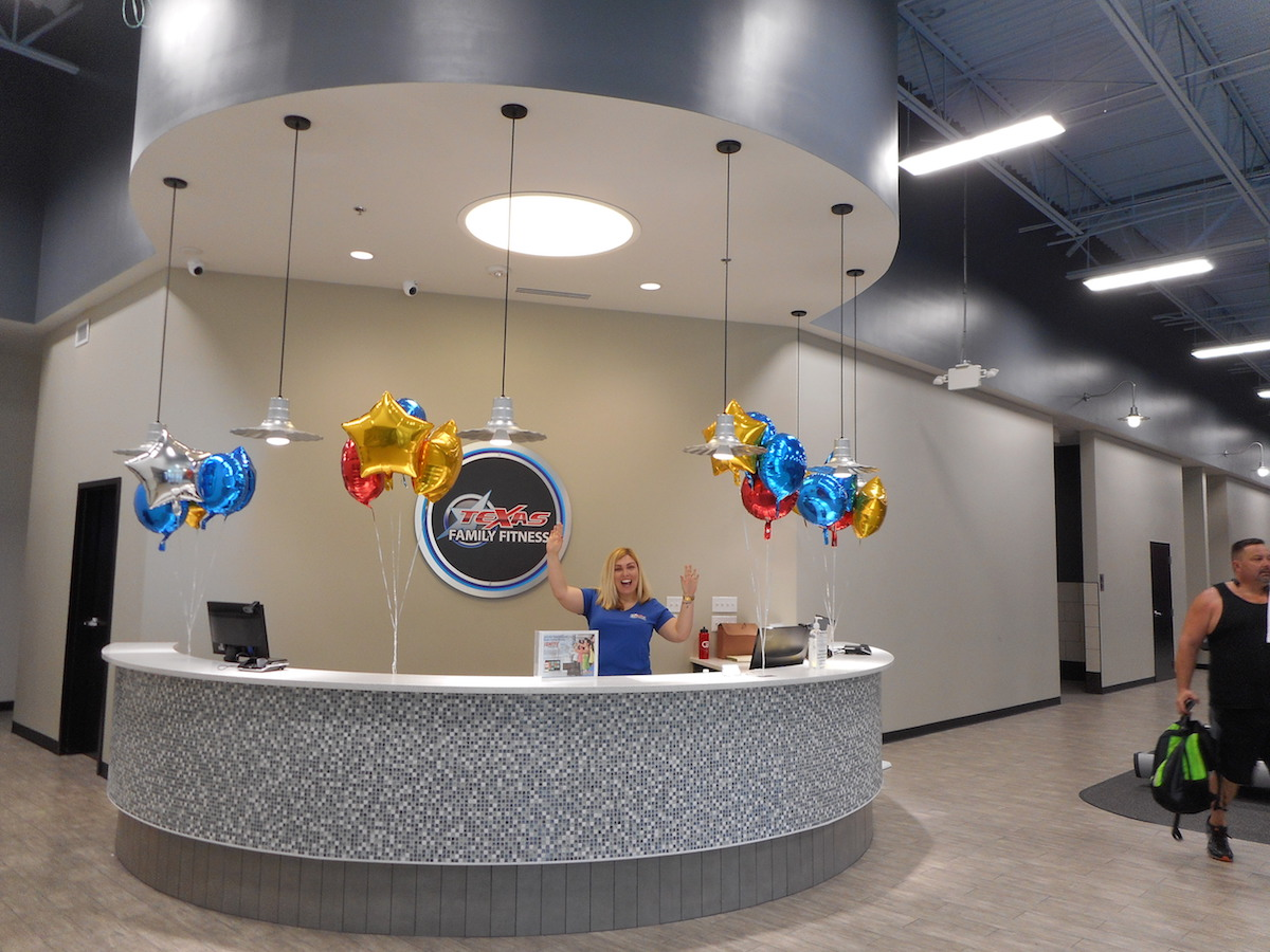 Texas Family Fitness North Fort Worth Front Desk