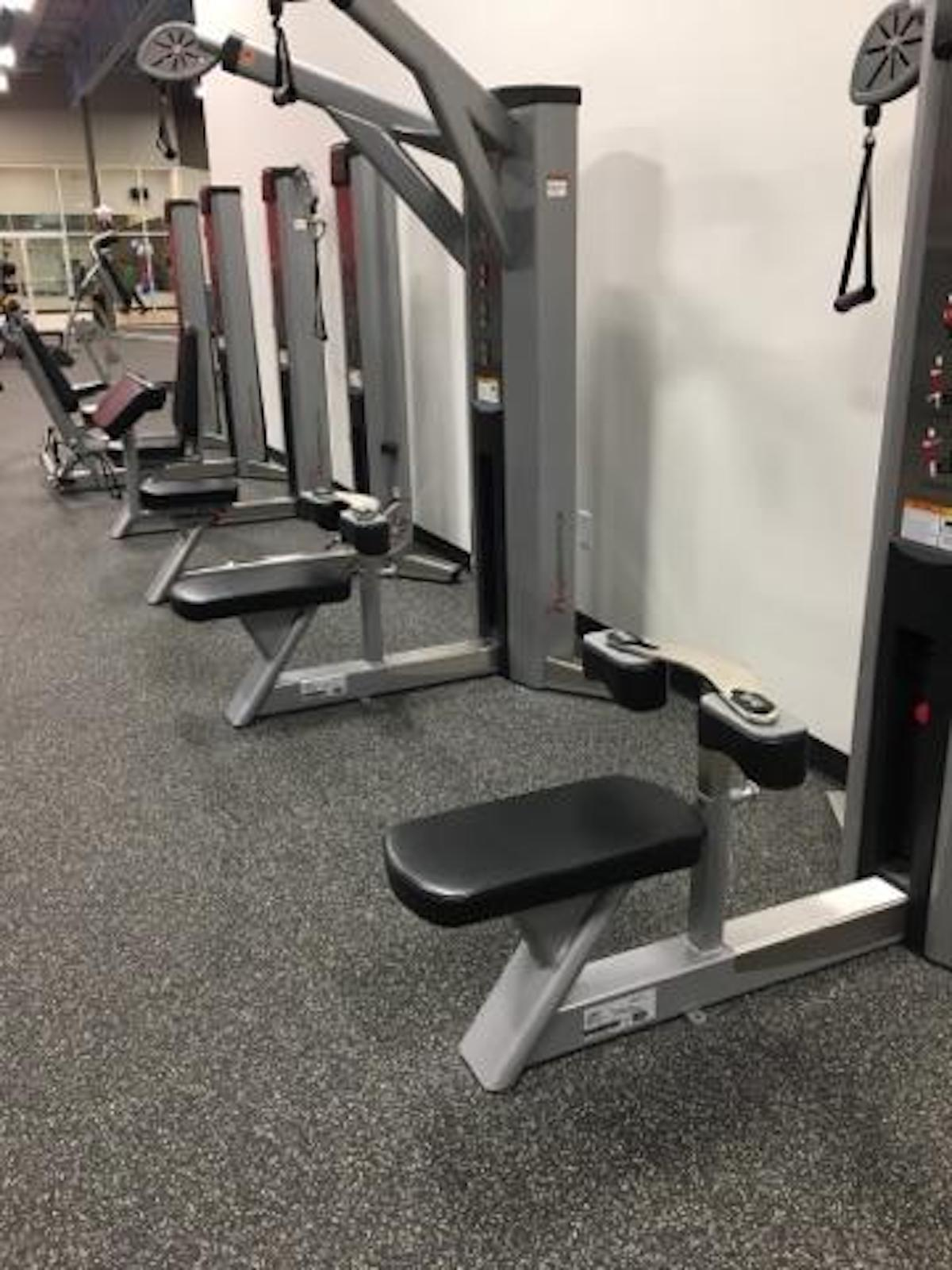 Texas Family Fitness North Fort Worth Weight Machines