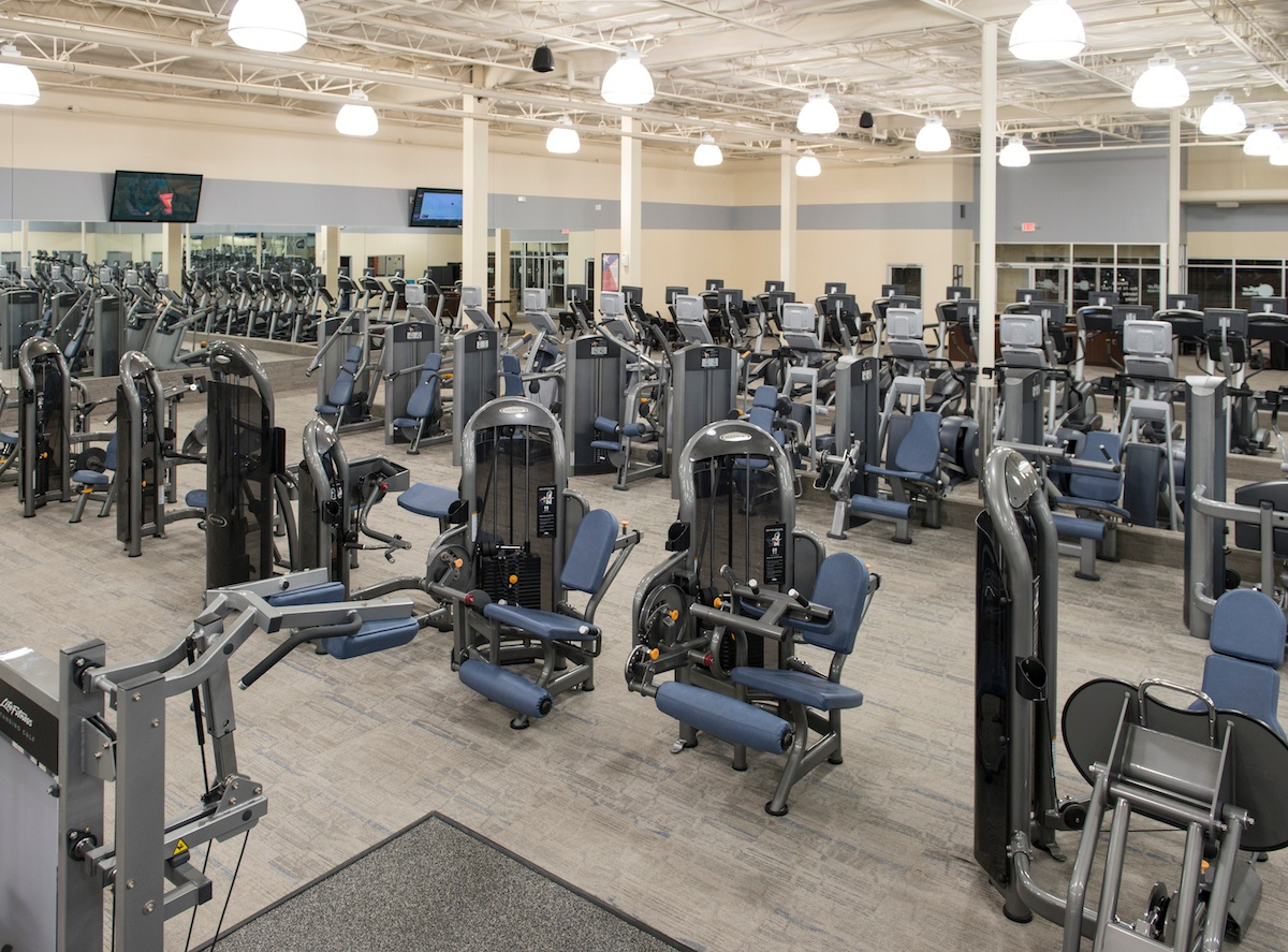 Texas Family Fitness The Colony Machine Weights
