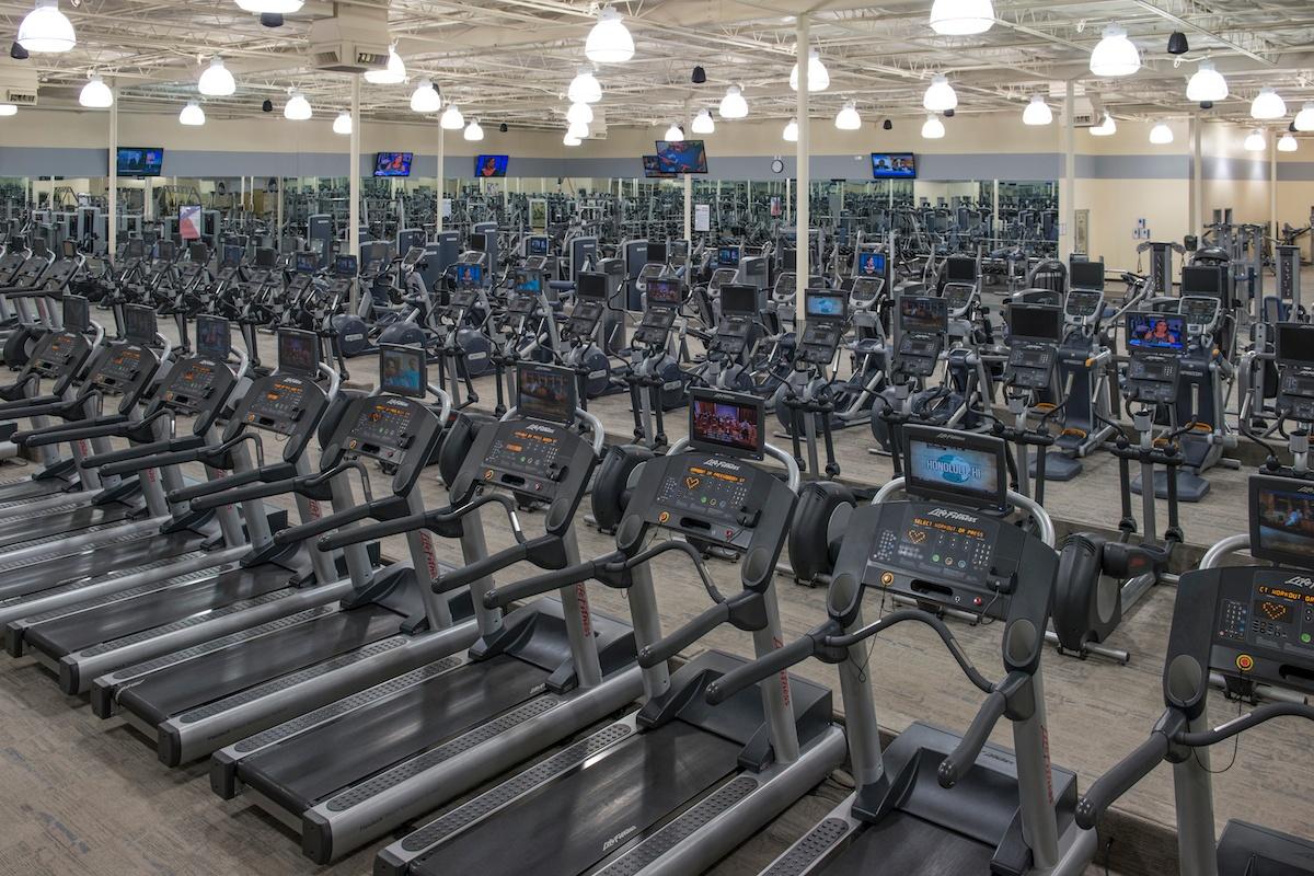 Huge Cardio Center