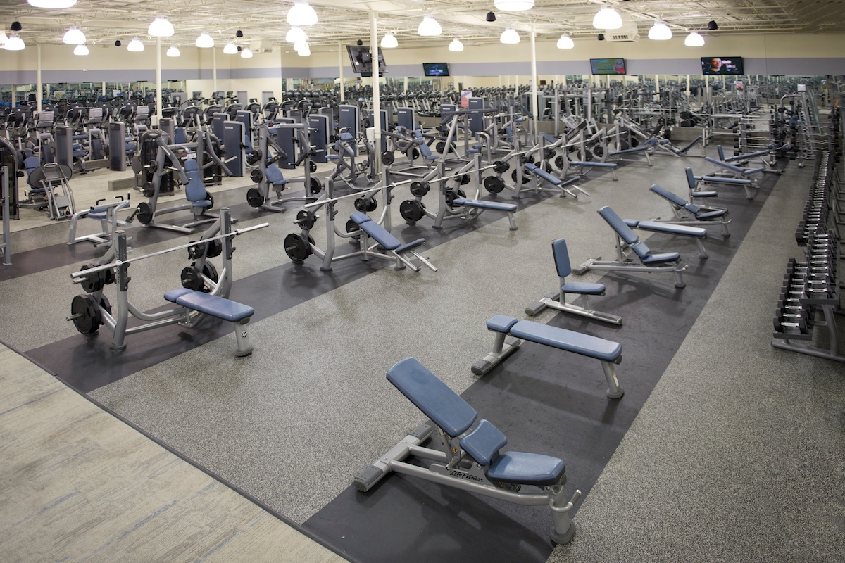 Large Free Weight Center
