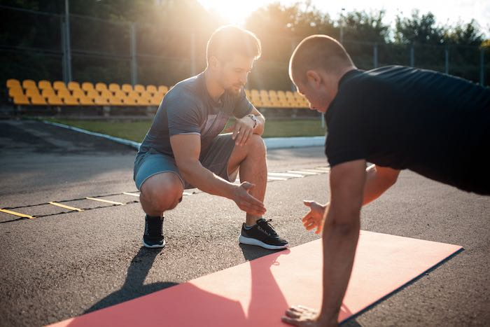 Trainer exercises featured