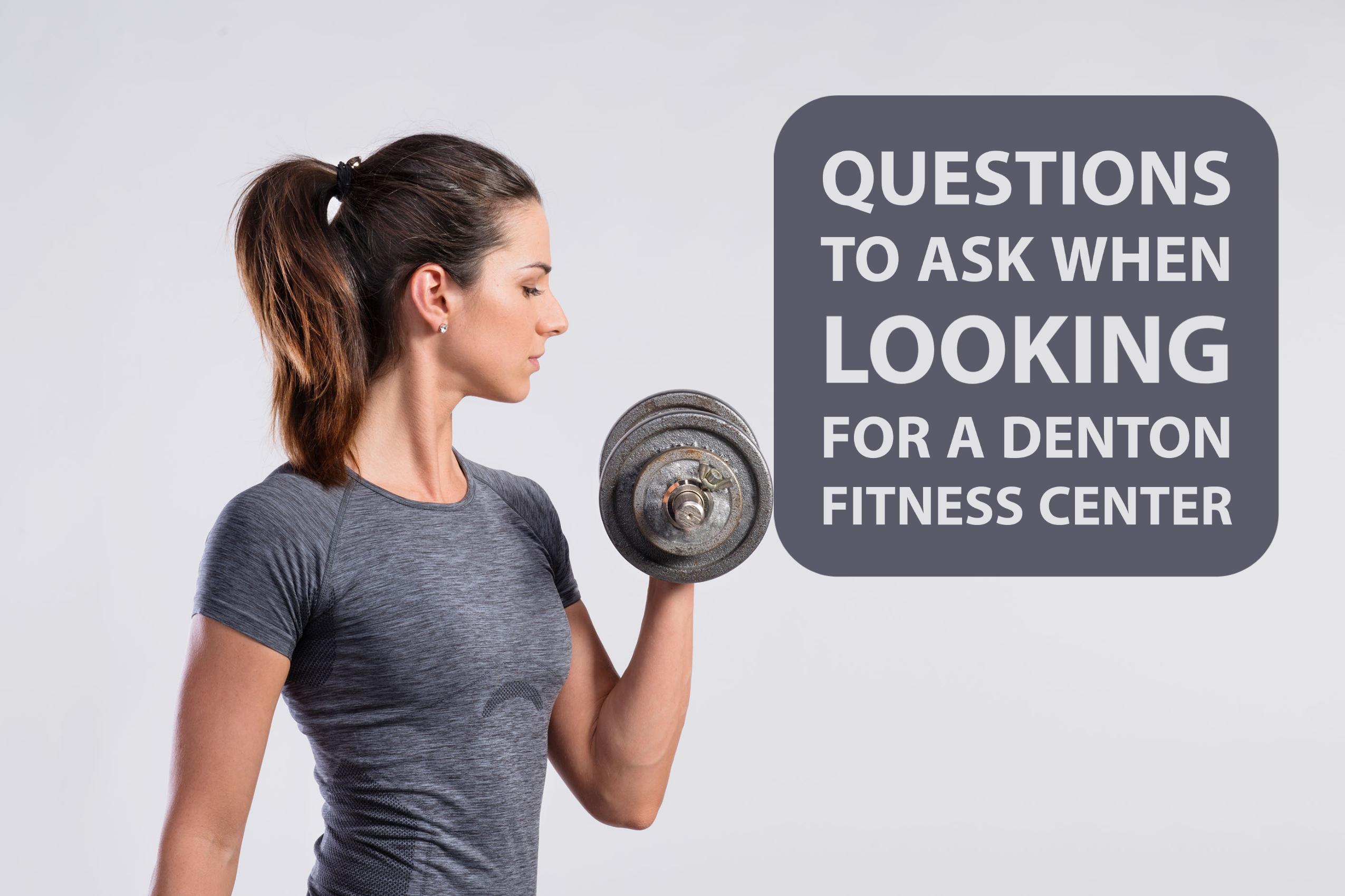denton fitness center