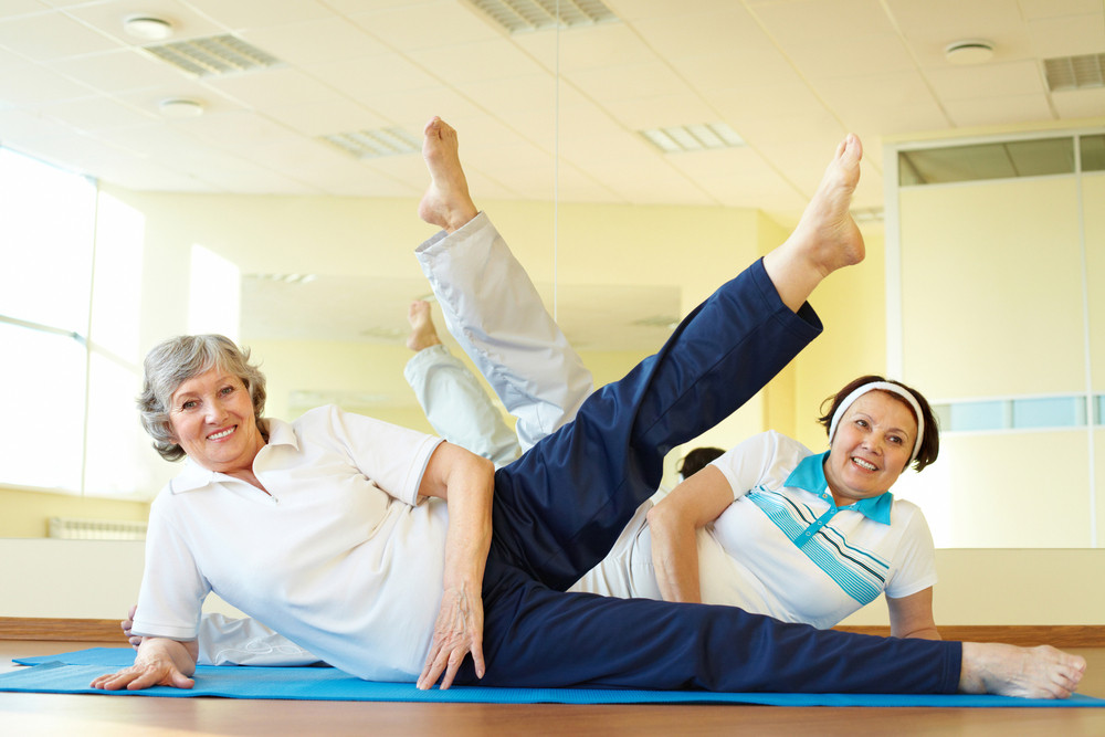 senior workout classes